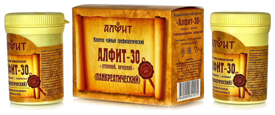 Купить Чайный напиток Алфит-30 Панкреатический (для поджелудочной железы), Чайный напиток Алфит-30 панкреатический для поджелудочной железы