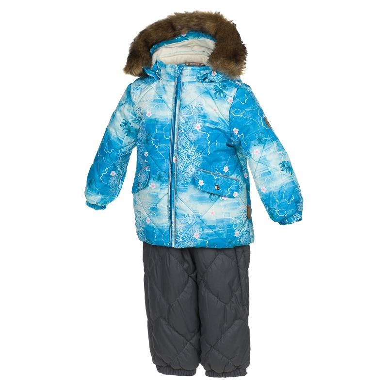 Комплект верхней одежды Huppa, цв. голубой р. 80 Noelle