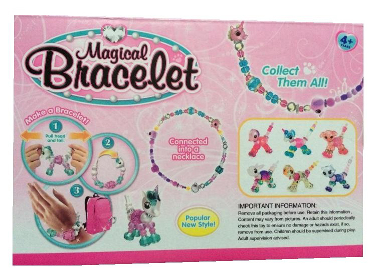 Купить Набор волшебных браслетов Наша Игрушка Магия-1 550A, Наша игрушка, Наборы украшений для девочек