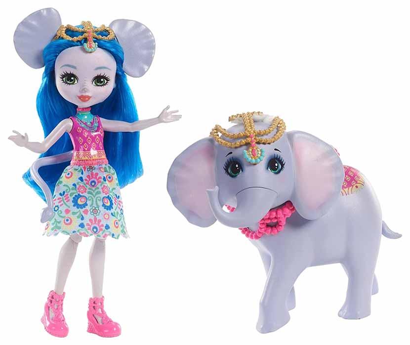 Кукла Энчантималс с большой зверюшкой Mattel