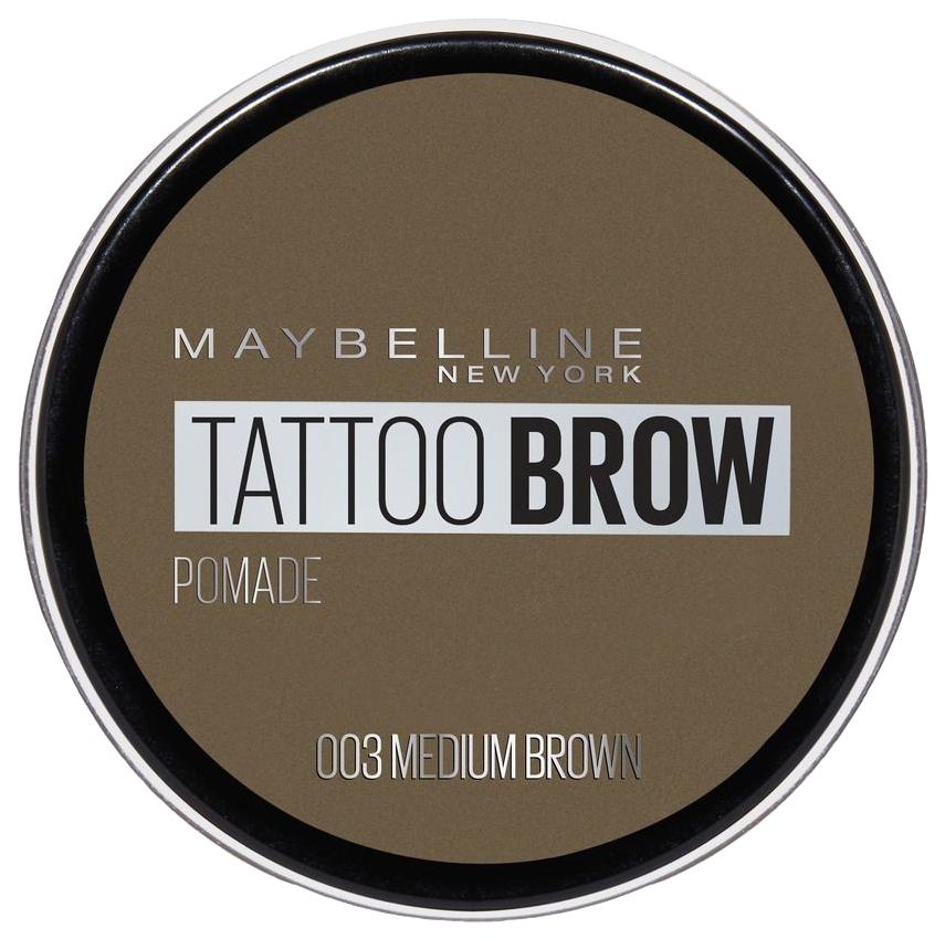 Помада для бровей Maybelline Brow Pomade 003 Medium
