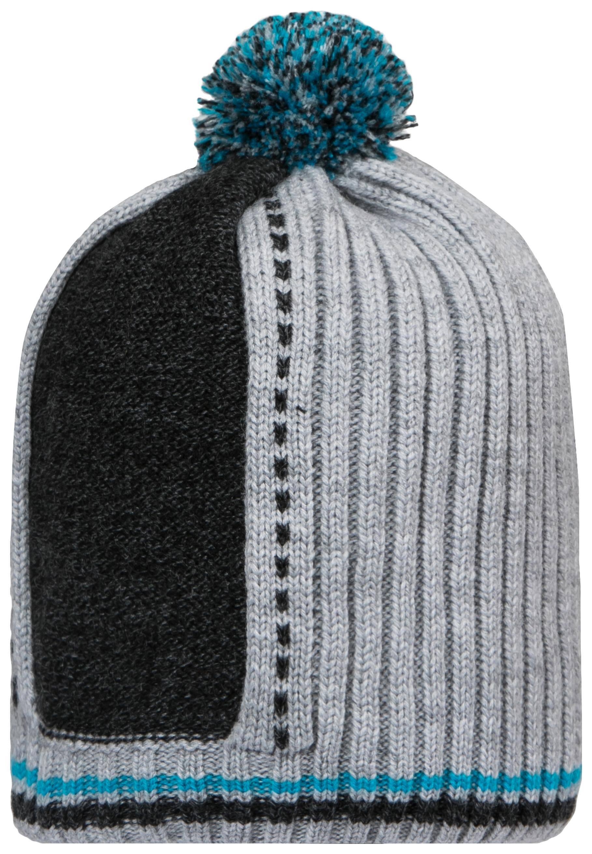 Купить W18B4002A(2), Шапка для мальчика Barkito, светло-серая р.52-54, Детские шапки и шарфы