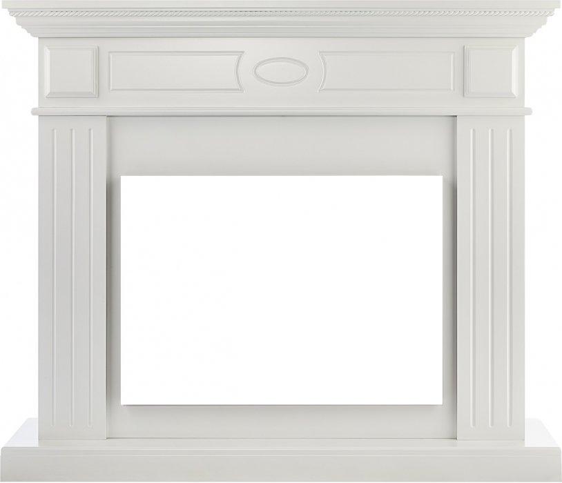 Деревянный портал для камина Electrolux Bianco