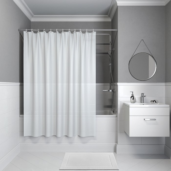 Штора для ванной комнаты IDDIS Promo P08PV11i11
