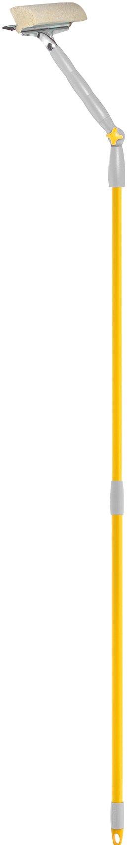Стекломой с поворотной телескопической ручкой 25см., Apex,