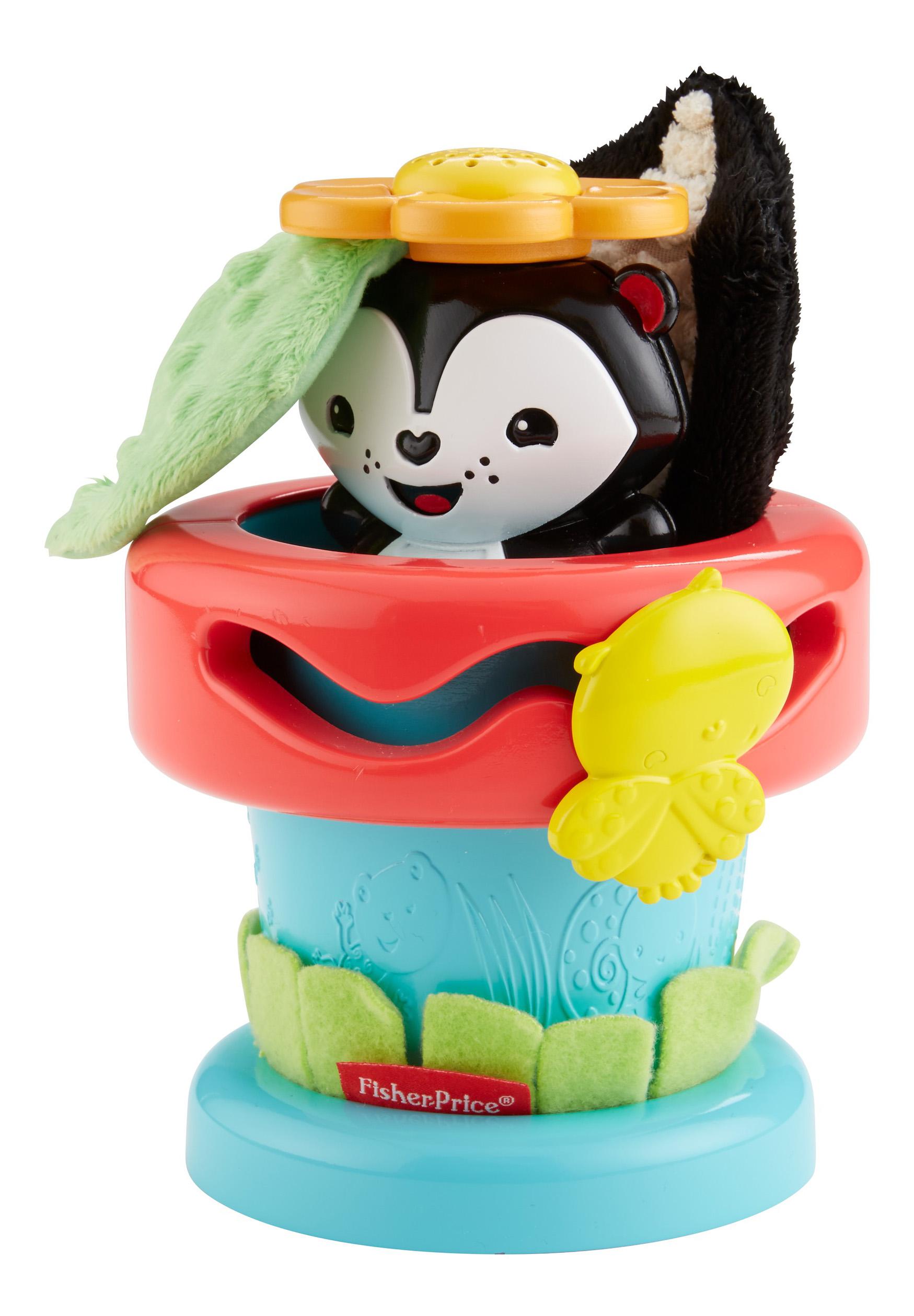 Мягкая развивающая игрушка Fisher-Price Игрушка в горшочке фото