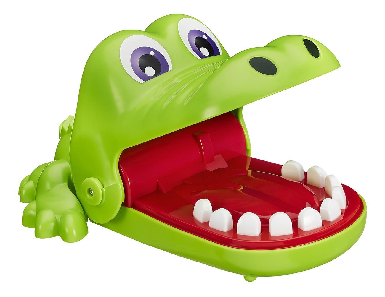 Купить Крокодильчик Дантист, Семейная настольная игра крокодильчик дантист b0408, Hasbro Games, Семейные настольные игры