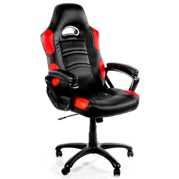 Игровое кресло Arrozzi enzo-rd, красный/черный фото
