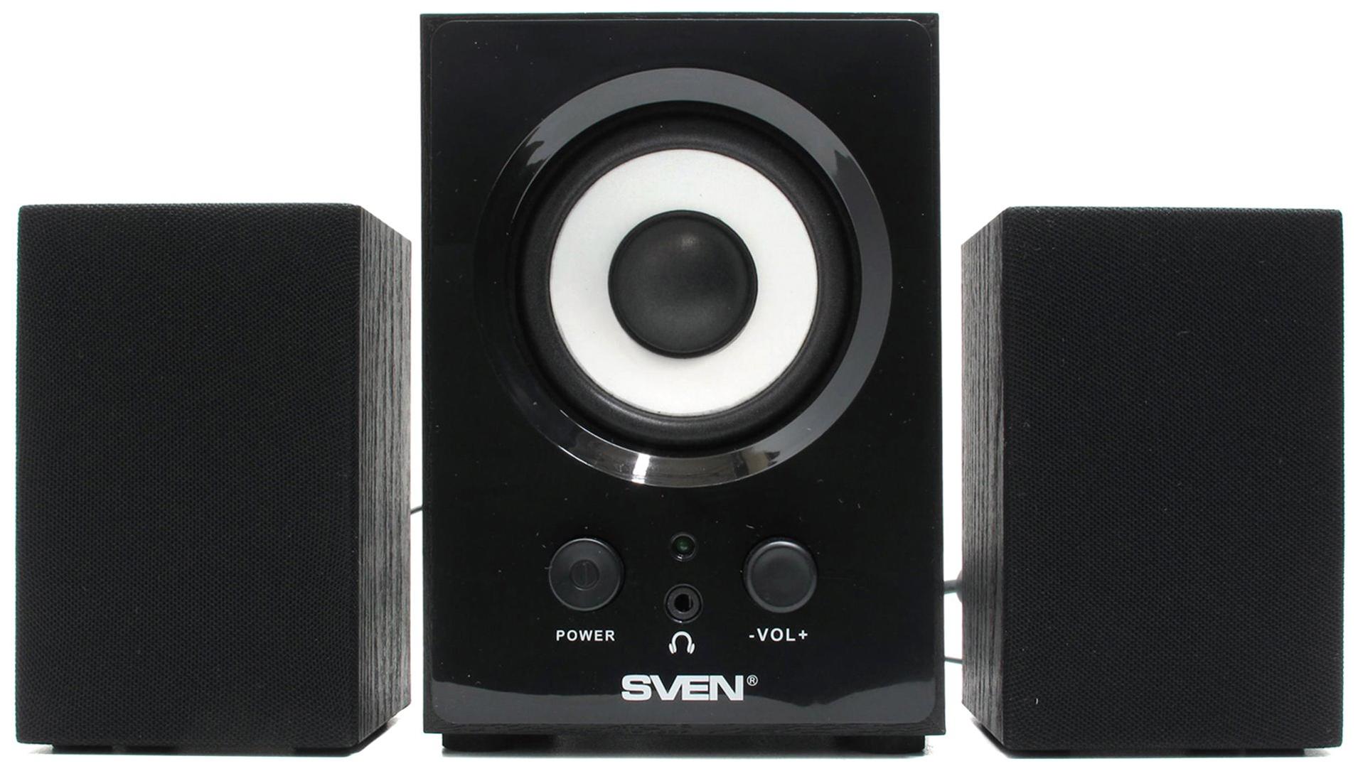 Колонки для компьютера Sven MS 80 Black