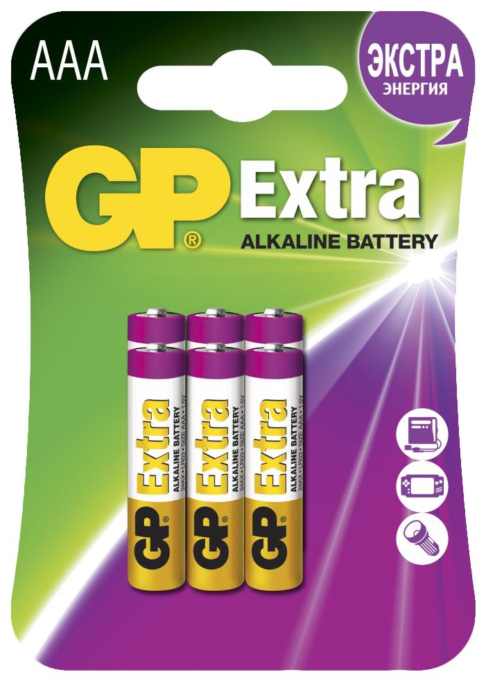 Батарейка GP Batteries Extra 24AX 2CR6 6 шт