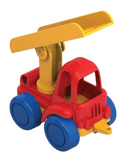 Пожарная машина нордик, красная