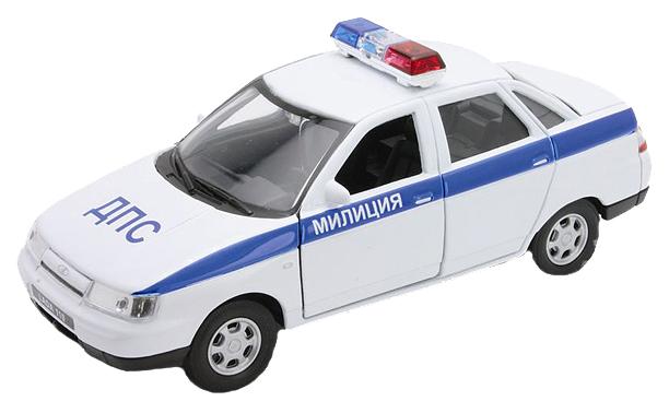 Купить Коллекционная модель Welly LADA 110 Милиция ДПС 42385PB 1:34, Спецслужбы