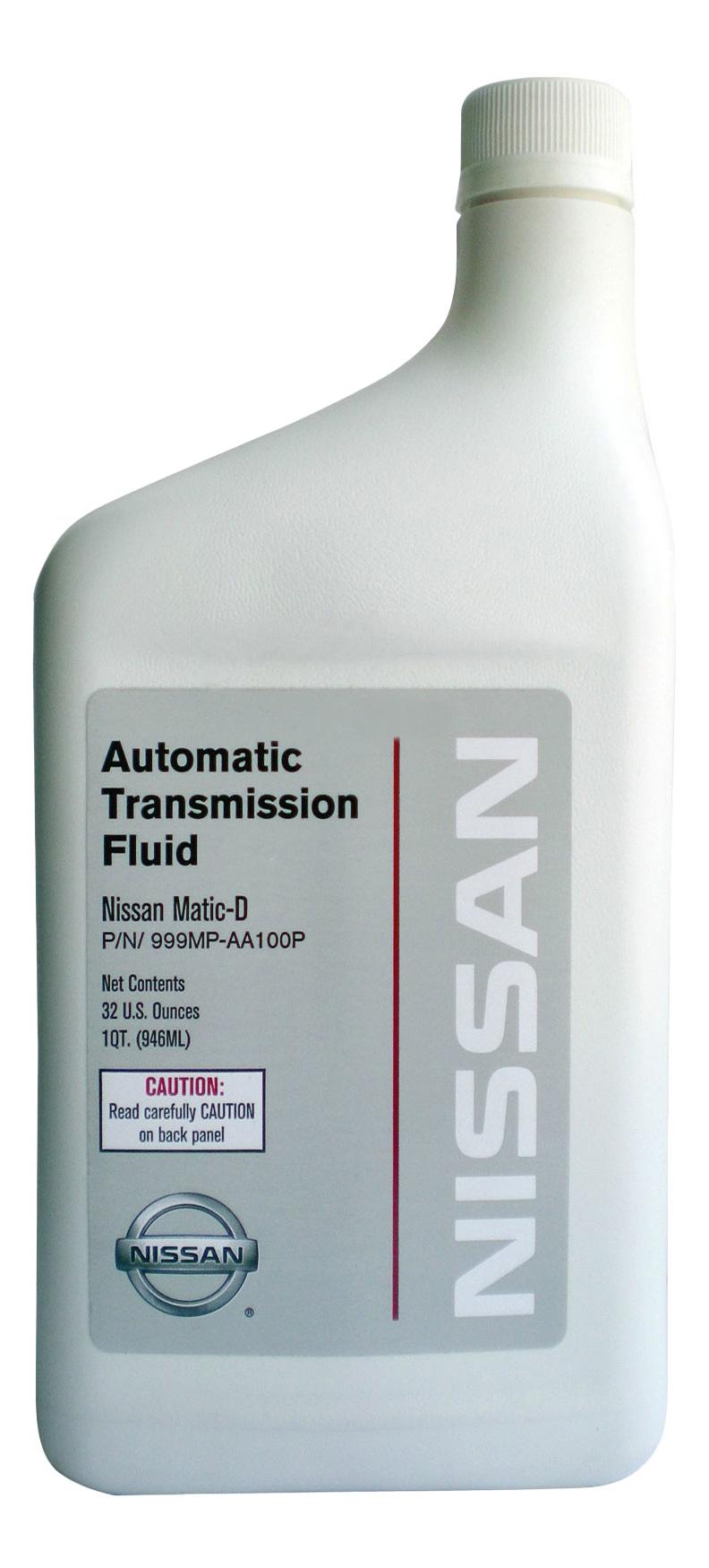 Трансмиссионное масло Nissan 0.946л 999MP-AA100P