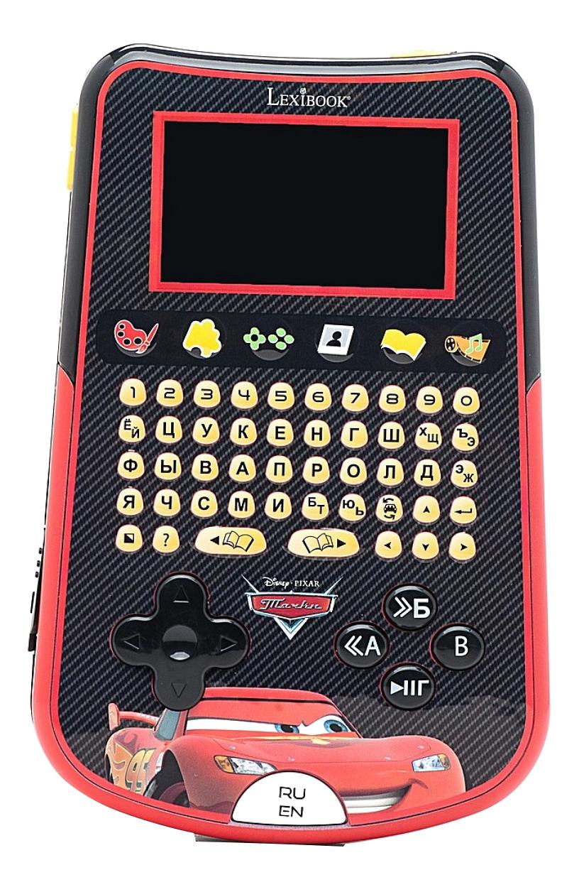 Купить Детский компьютер-планшет Lexibook Тачки, Интерактивные мягкие игрушки