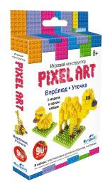 Конструктор пластиковый Origami Pixel Art Верблюд и уточка