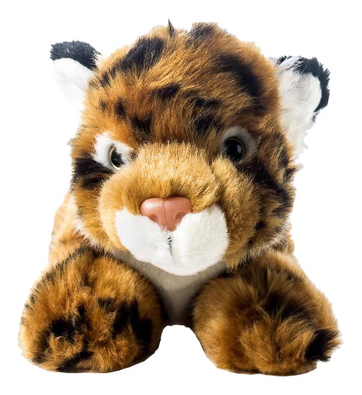 Купить Тигренок коричневый, Мягкая игрушка SOYA Тигренок (коричневый), 20x9x11 см, Мягкие игрушки животные