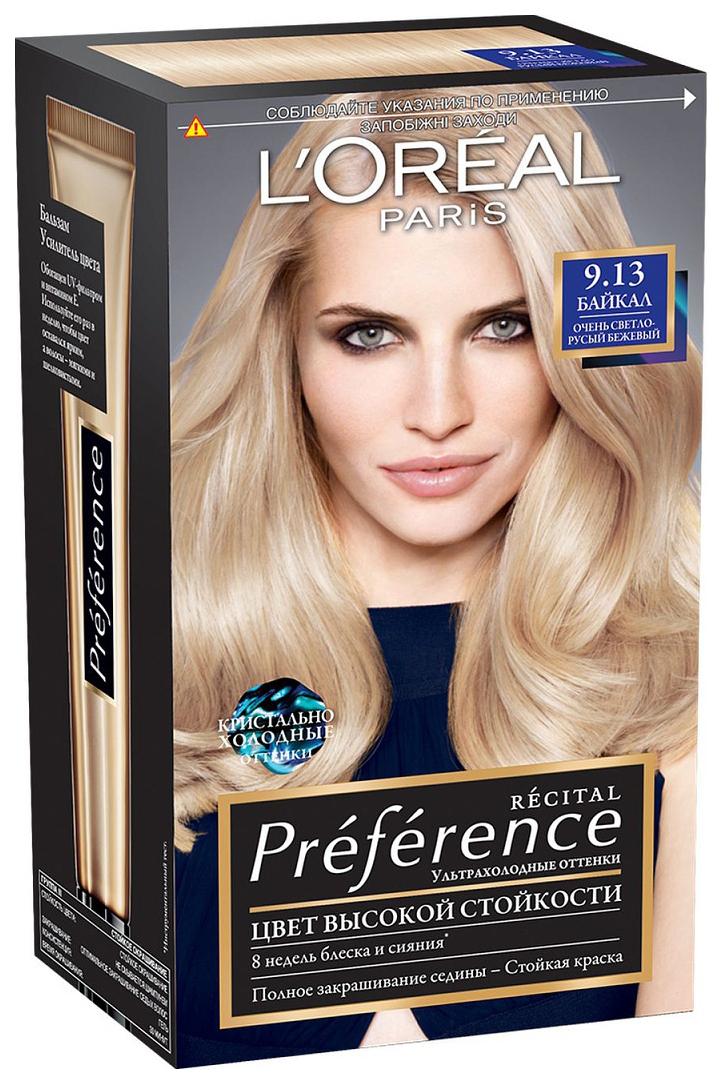 Краска для волос L\'Oreal Paris Preference тон 9,13 Байкал 40мл