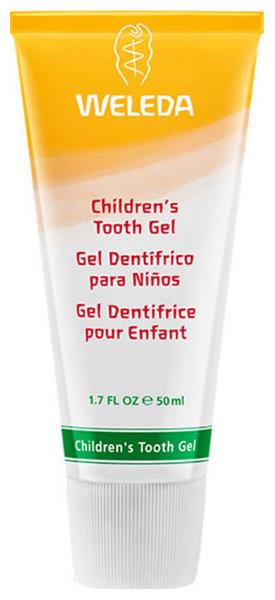 Купить Детская зубная паста Weleda Гель с календулой 50 мл, Детские зубные пасты