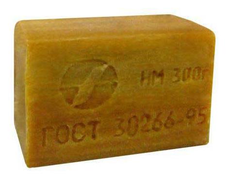 Хозяйственное мыло Аист без упаковки 72%