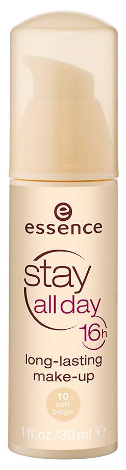 ESSENCE STAY ALL DAY 16H LONG-LASTING MAKE-UP 10 SOFT BEIGE