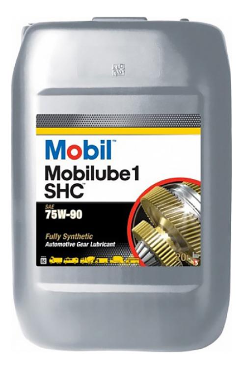 Трансмиссионное масло Mobil Mobilube 1 SHC 75w90 20л 152738