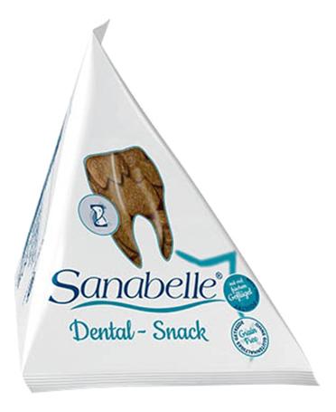 Лакомство для кошек Sanabelle Dental Snack фигурки,