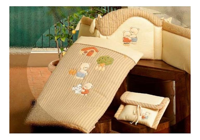 Одеяло детское BABYPIU БИБА 150 х