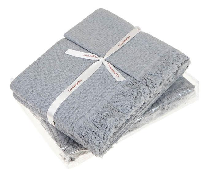 Набор полотенец Luxberry серый
