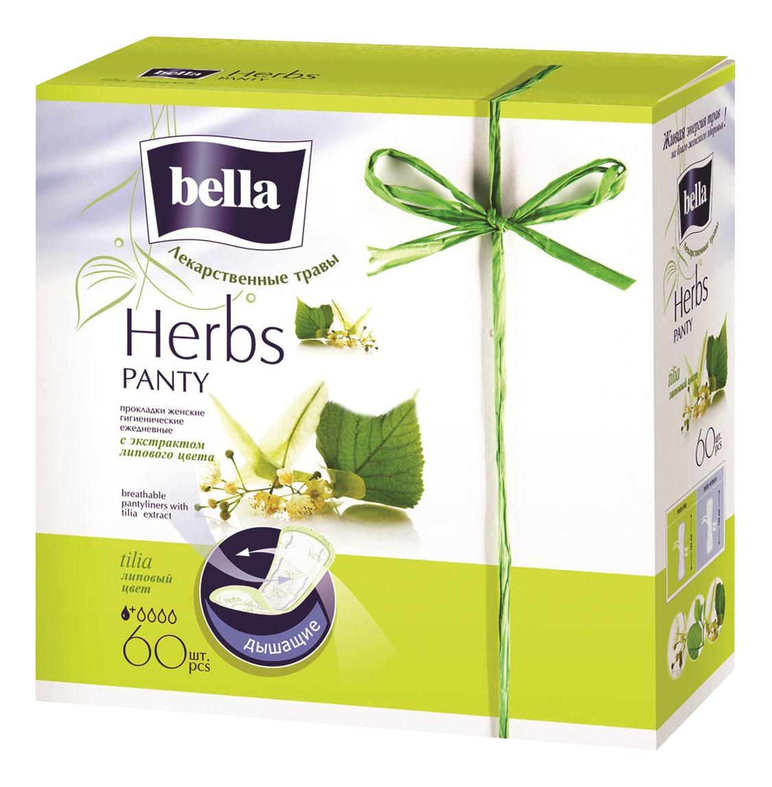 Прокладки гигиенические Bella Soft tilia 60 шт. экстр