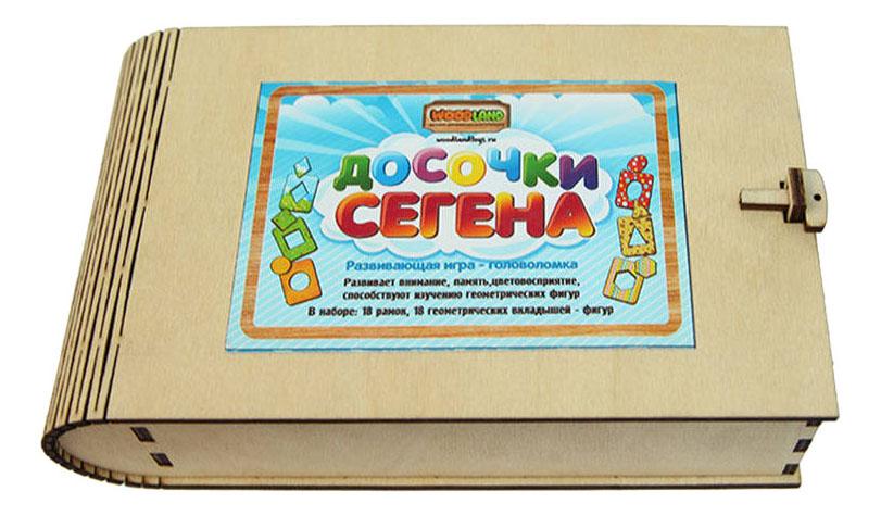Деревянная игрушка для малышей Сибирский сувенир Досочки Сегена фото
