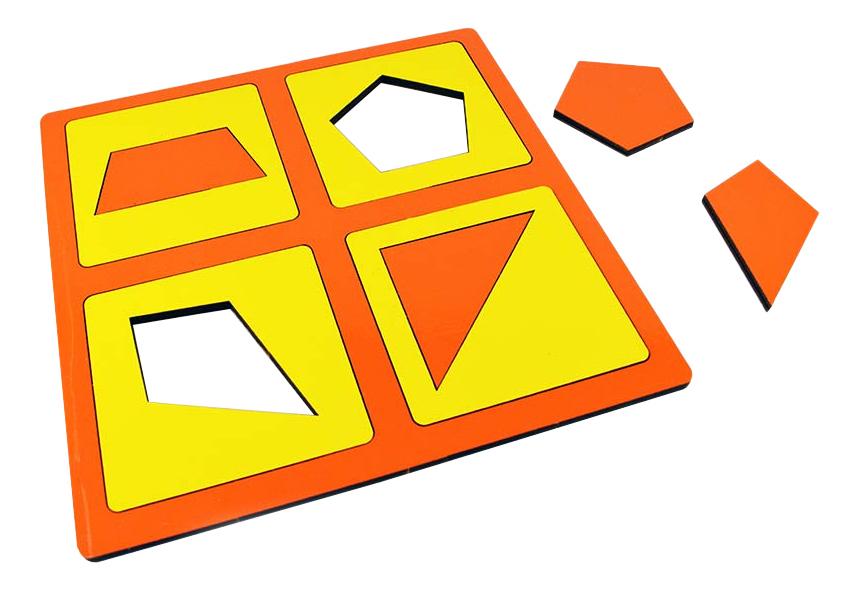 Развивающая игрушка Методики Зайцева Рамки и вкладыши Монтессори фото