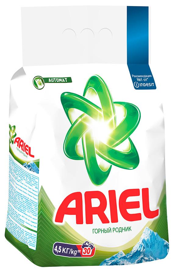 Порошок для стирки Ariel automat горный родник 4.5 кг