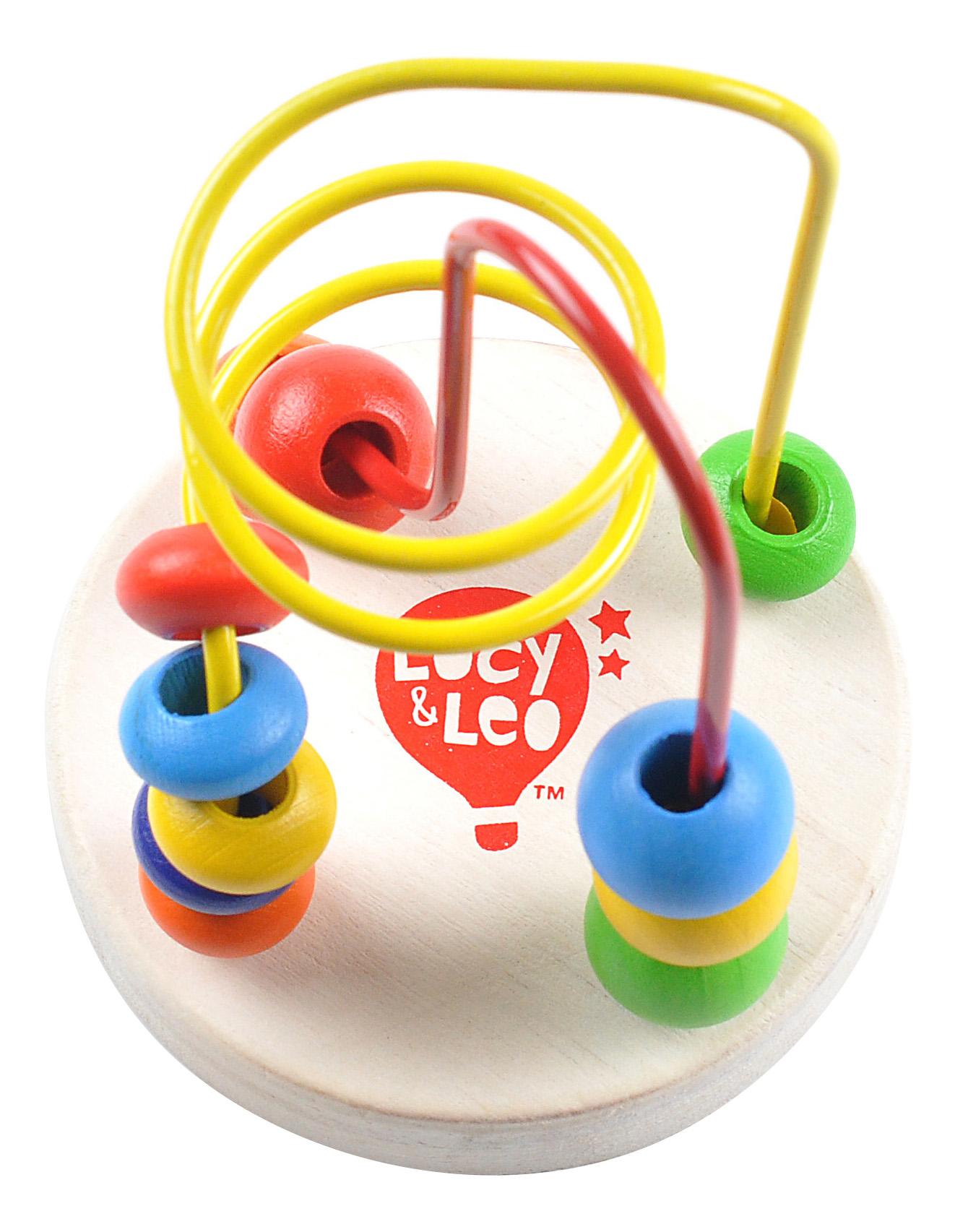 Купить Лабиринт с бусинками №1, Головоломка Lucy&Leo Лабиринт с бусинками №1, Игрушки головоломки