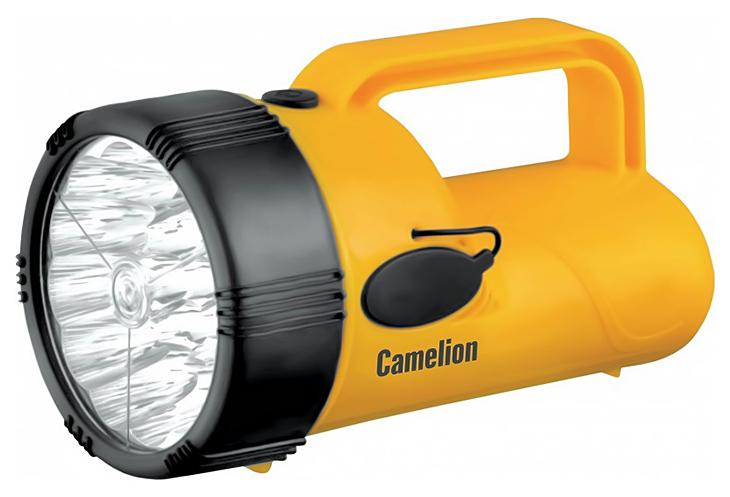 Туристический фонарь Camelion Ultraflash Akku Profi LED29314 желтый/черный, 1 режим