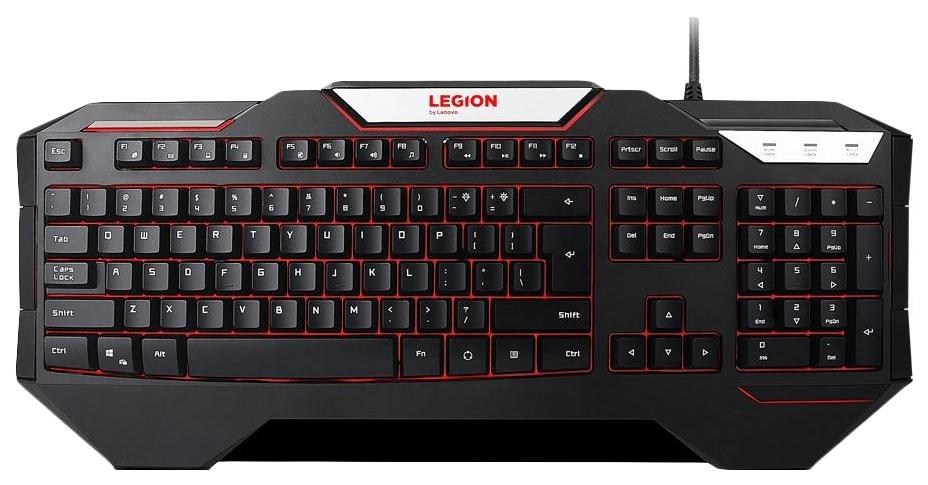 Игровая клавиатура Lenovo K200 Black (GX30P98215)