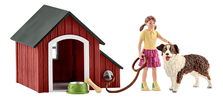 Купить Schleich Игровой набор Schleich Мои первые животные на ферме Собачья будка 42376,