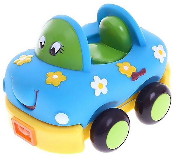 Купить Мягкая инерционная машинка авто малыши 7363, Машинка мягкая Play Smart 7363, PLAYSMART, Игрушечные машинки