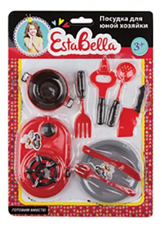 Детская кухня EstaBella Посудка юной хозяйки 62121