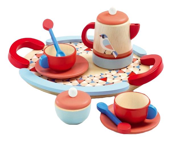 Набор посуды игрушечный Djeco Чай