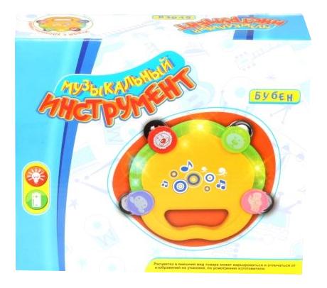 Бубен игрушечный Zhorya Бубен игрушечный свет звук фото