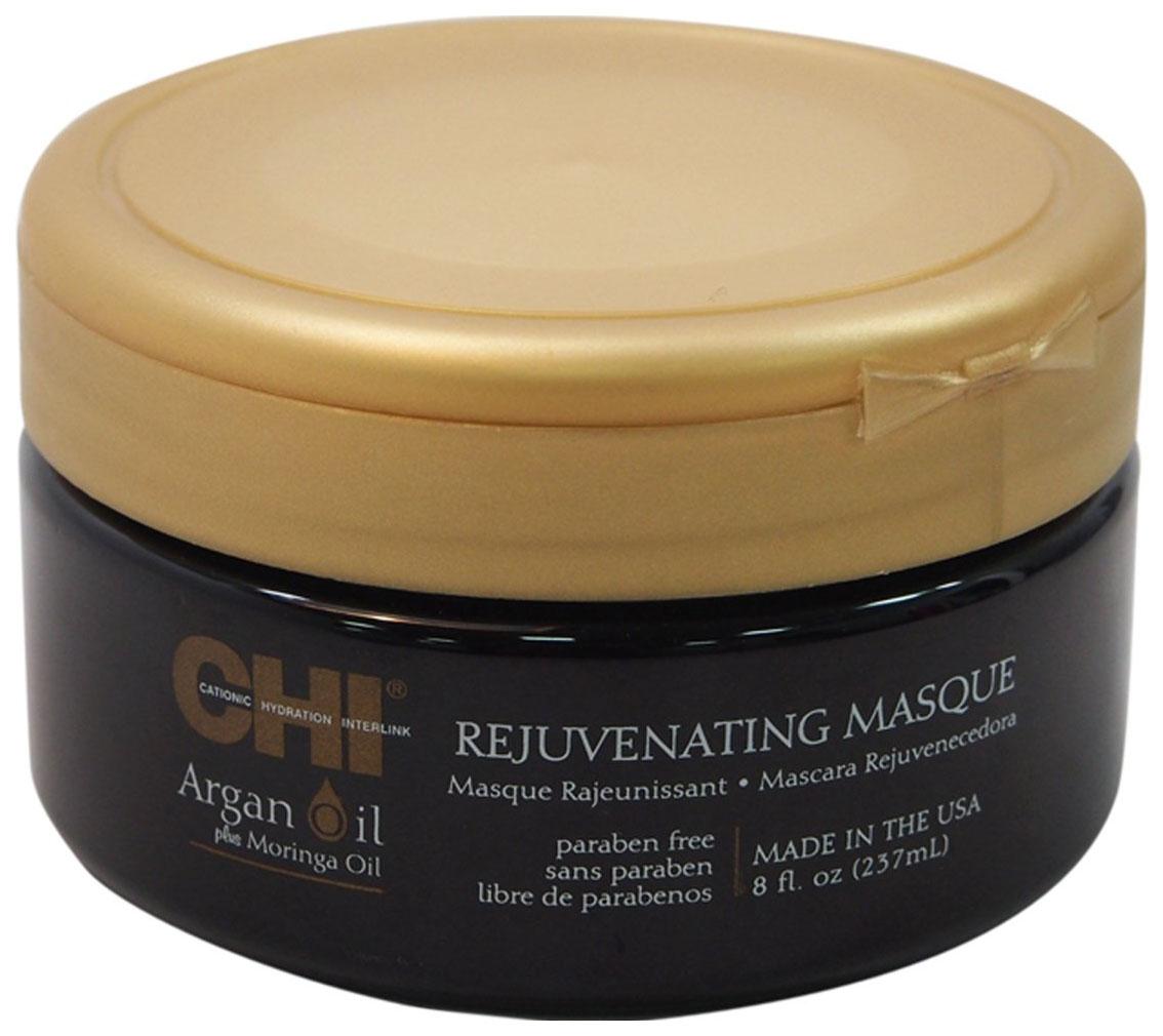 Маска для волос CHI Argan Oil Plus Moringa Oil Rejuvenating Masque 237 мл фото