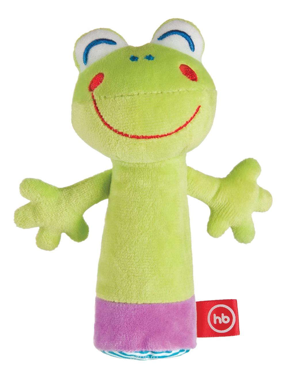 Мягкая развивающая игрушка Cheepy Frogling Happy Baby