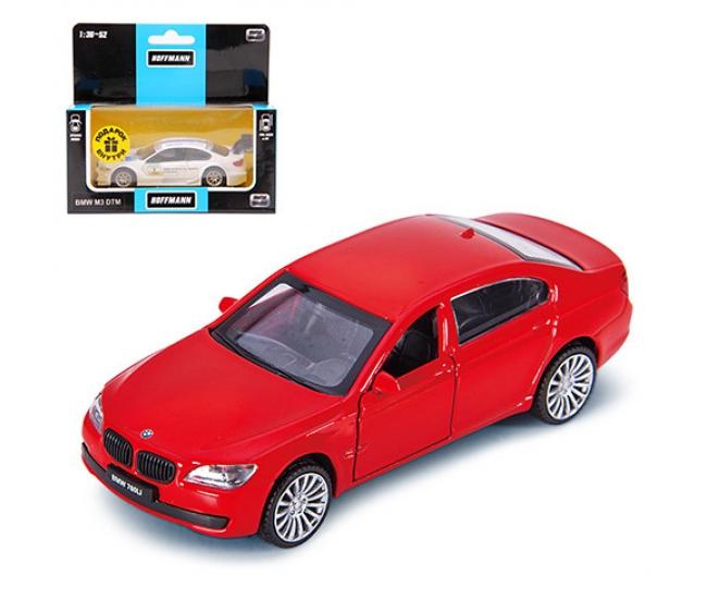 Купить Машинка металлическая инерц, BMW 760 LI, 1:46, ассортимент HOFFMANN, Игрушечные машинки