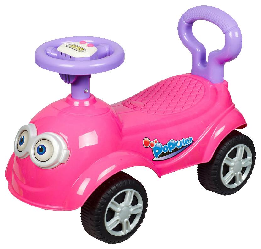 Купить Средняя, Каталка детская Sweet Baby Giro розовая 390284, Машинки каталки