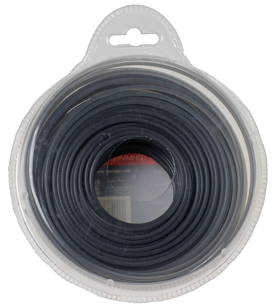 Леска для триммеров FUBAG FR сечение круглое L 60 м х 2,4 мм фото