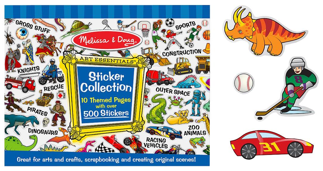 Набор стикеров для творчества Melissa and Doug 4246