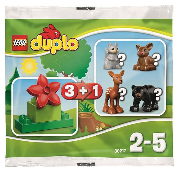 Купить Конструктор LEGO Duplo Лес 30217, LEGO Duplo для девочек