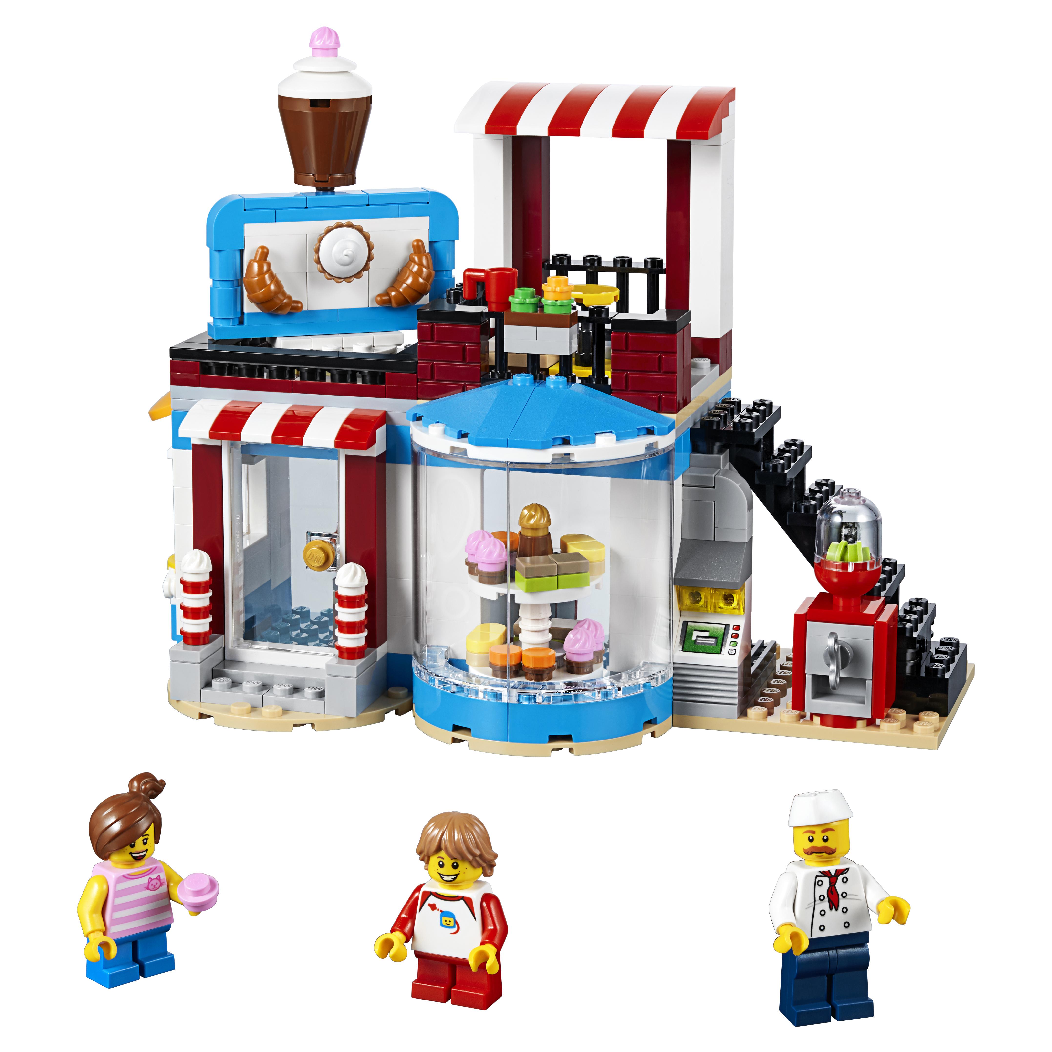 Конструктор LEGO Модульные сборка: приятные сюрпризы 31077