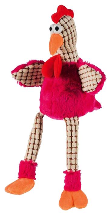 Игрушка пищалка для собак TRIXIE Chicken Цыпленок