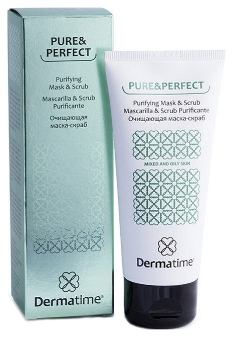 Маска скраб для лица очищающая Dermatime Pure&Perfect